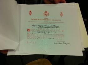 Diplom SMaltO:sSM Dagny Wand. Foto: Jonas Arnell 2013