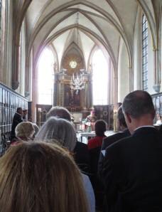Biskop Anders i Riddarholmskyrkan 1/9-13