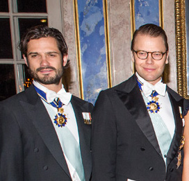 Swedish Royal Family / President of Tunisia
