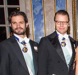 Swedish Royal Family / President of Tunisia